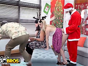 BANGBROS - puny young ash-blonde Anastasia Knight pummeled