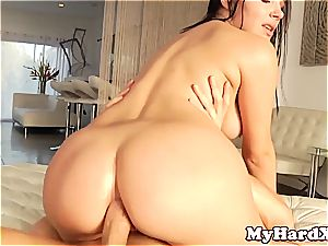 scorching sex industry star Valentina Nappi rectal poking