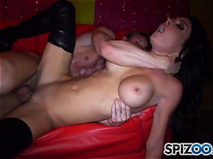 fabulous stripper Jessica Jaymes rails her client rock hard