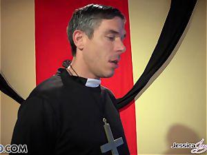 insatiable nuns Jessica Jaymes and Nikki Benz pleasing gods dreams