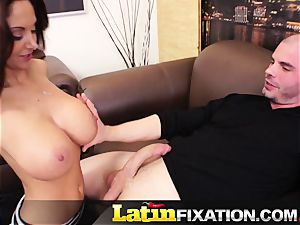 LatinFixation Ava Addams gulp sugary-sweet cum