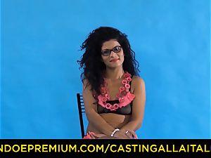casting ALLA ITALIANA - Romanian nymphomaniac arse boned